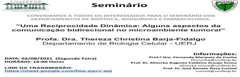 Seminários INFAR - 02/08/2021