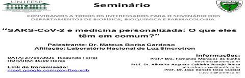 Seminários INFAR - 27/09/2021