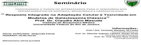 Seminários INFAR - 31/05/2021
